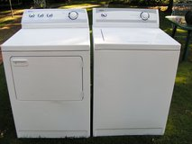 Washer and Dryer Maytag set (not digital-a regular washer and dryer) in Macon, Georgia