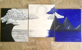 3 piece canvas painting in Oceanside, California