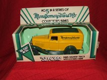 Ertl Montgomery Ward & Co. 1932 Ford Panel Delivery Truck Die-Cast Metal Bank in Naperville, Illinois