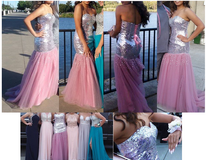 FORMAL / BALL / WEDDING / PROM Dress for sale - Pink Mermaid Style in Travis AFB, California