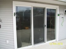 Patio 3 panel window in Quad Cities, Iowa