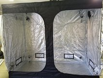 Grow tent in Yucca Valley, California
