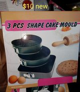 3 piece spring pans *new* in Vacaville, California