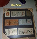 Home is where your Story begins decor in Vacaville, California