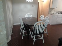 Table with 6 chairs+Extra Extension in Spring, Texas