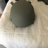 Kevlar helmet used in Fort Lewis, Washington