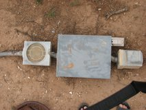 meter loop 100 amp breaker box and meter box and mobile home plug and copper 4 wire in Alamogordo, New Mexico