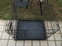 Small dog wire kennel in Okinawa, Japan