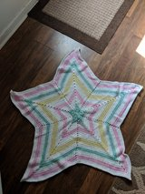 large star shapped baby blanket in Hinesville, Georgia