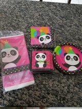 Panda themed party supplies in Chicago, Illinois