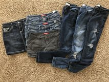 Junior's size 5 Mudd jeans and shorts in Yorkville, Illinois