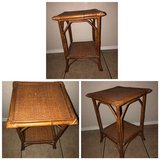 brown wicker table in Lawton, Oklahoma
