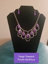 Tango Tempest Purple Necklace in Fort Campbell, Kentucky