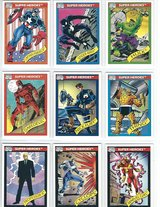 1990 Marvel Comics Trading / Collecting Card Set ($65 Set) in Fort Riley, Kansas