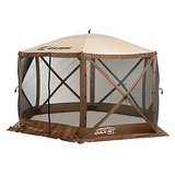 Clam Outdoors Quick-Set® Escape™ 6-Sided Screen Shelter in Brown (Brand New) in Bolingbrook, Illinois