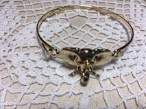 Elephant Bracelet NEW Never Worn Gold Bangle with Opener in Kingwood, Texas