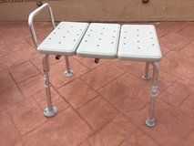 Shower chair in very good condition in Fairfield, California