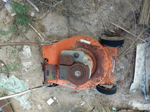 Antique Lawnmower in Dover AFB, Delaware