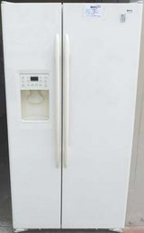 23 CU. FT. GE PROFILE ARCTICA SIDE-BY-SIDE REFRIGERATOR in Camp Pendleton, California