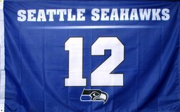 SEAHAWKS 3'x5' 12th Man Flag Banner *** Different Designs (NEW) *** in Tacoma, Washington