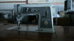 Singer sewing machine and table in Fort Meade, Maryland