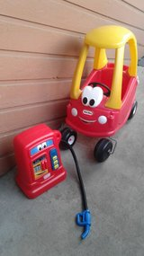 Little Tykes Cozy Coupe & Gas Pump in Orland Park, Illinois