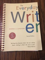 The Everyday Writer by Andrea A. Lunsford 2nd edition in Glendale Heights, Illinois