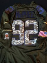 Authentic Pernell McPhee Salute the Service jersey in Algonquin, Illinois