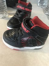 Toddler boys Star Wars shoes size 6 in Plainfield, Illinois