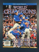 Chicago Cubs World Champions in Naperville, Illinois