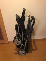 Graco Duoglider Double Stroller with click connect. in Okinawa, Japan