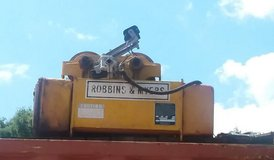 3 Ton Robbins & Myers overhead Elecctric crane in Cleveland, Texas