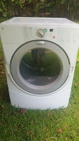 Whirlpool Electric dryer White in Spring, Texas