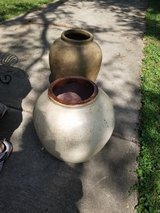 2ft Tall Large Heavy Cement Potting Planter Pots in Chicago, Illinois