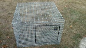 GALVANIZED STEEL ANIMAL cage in Chicago, Illinois