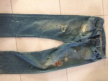 (2) Lucky Brand Dungarees Jeans / 519 Japanese Designer Jeans in Ramstein, Germany