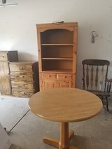 FREE TABLE, HUTCH, DESK & ROCKING CHAIR in Naperville, Illinois