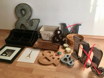Misc - baskets, crafts, candles, picture frame in Stuttgart, GE