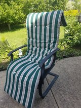 2 Long Pillows  for out side chair . in Bartlett, Illinois