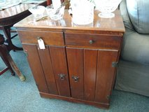 Small wood cabinet in Bartlett, Illinois