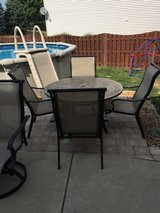 Patio set in Naperville, Illinois