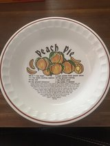 Peach Pie Plate in Stuttgart, GE