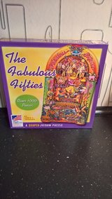 The Fabulous Fifties Shaped Jig Saw Puzzle year 2003 in Ramstein, Germany