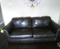 Ashley Leather Couch in Fort Campbell, Kentucky