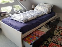 Single Bed with double under-bed storage drawers (two beds available) in Stuttgart, GE