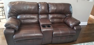 4 recliner Couch & LS w heat & vibration in Fort Campbell, Kentucky