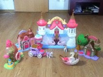 Imaginext Princess village in Grafenwoehr, GE