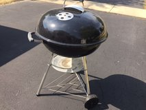 """Weber 22"""" charcoal grill in Chicago, Illinois"""