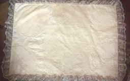 """NEW Hand-made """"Shabby Chic"""" Baby Coverlet w/Vintage Materials in Bartlett, Illinois"""