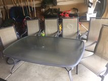 Patio table and chairs in Joliet, Illinois